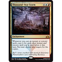 Thousand-Year Storm ( Foil ) ( Guilds of Ravnica Prerelease )