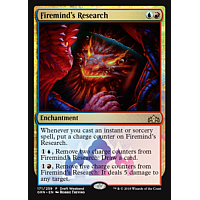 Firemind's Research ( Foil ) (Guilds of Ravnica Draft Weekend)