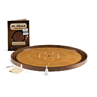 Crokinole TOURNAMENT – steamed beech with walnut ditch