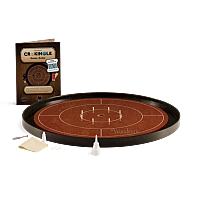 Crokinole TOURNAMENT – Cherry with Ebony ditch