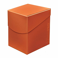 Eclipse PRO 100+ Deckbox-Pumpkin Orange