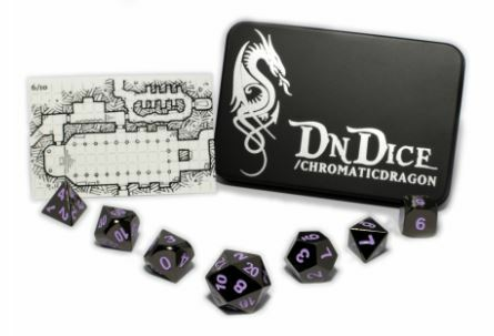 DnDice Solid Zink: Purple Chromatic Dragon_boxshot