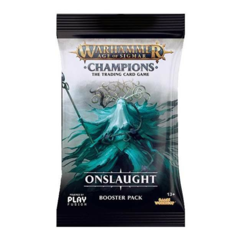 Warhammer Age of Sigmar: Champions TCG - Onslaught Booster_boxshot