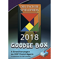 The Deutscher Spielepreis 2018 Goodie Box