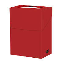 Solid Deck Boxes - Red