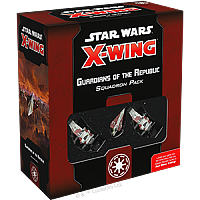 Star Wars: X-Wing Second Edition - Guardians of the Republic Squadron Pack