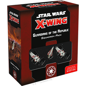 Star Wars: X-Wing Second Edition - Guardians of the Republic Squadron Pack_boxshot