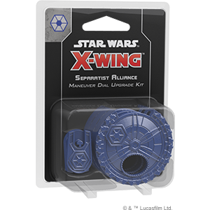 Star Wars: X-Wing Second Edition - Separatist Alliance Maneuver Dial Upgrade Kit_boxshot
