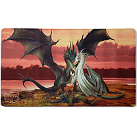 Dragon Shield Playmat - Valentine Dragons