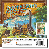 Stephenson's Rocket: Eastern USA and China (Expansion)