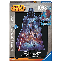 Darth Vader - Silhouette 1098 Piece Puzzle