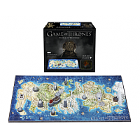4D Cityscape - Game Of Thrones / Mini Westeros 3D Puzzle