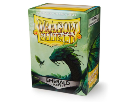 Dragon Shield - Matte Emerald (100)_boxshot