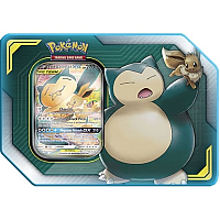 TAG TEAM Tin-Eevee & Snorlax GX
