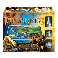 Lord Of The Rings 4D Middle Earth 2100 piece Puzzle