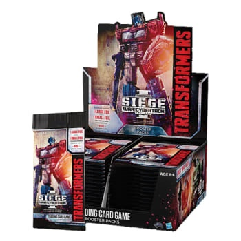 Transformers TCG: War for Cybertron Siege I - Booster Display (30 boosters)_boxshot