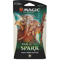 War Of The Spark Theme Booster: White