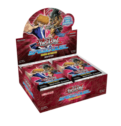 Yu-Gi-Oh Speed Duel: Scars of Battle- Booster Display_boxshot