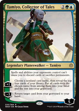 Tamiyo, Collector of Tales ( Foil )_boxshot