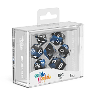 Oakie Doakie Dice RPG Set Glow in the Dark - Deep Ocean (7)
