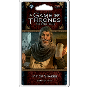 A Game of Thrones LCG 2nd Ed. - King's Landing cycle#3 Pit of Snakes_boxshot