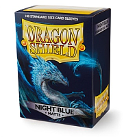 Dragon Shield - Matte Night Blue (100)