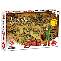 The Legend of Zelda Jigsaw Puzzle Hyrule Field