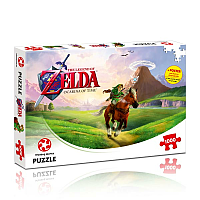 1000 bitar - The Legend of Zelda Jigsaw Puzzle Ocarina of Time