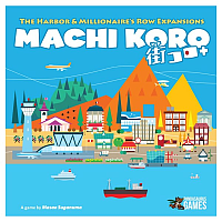 Machi Koro 5th Harbor & Millionaires Row