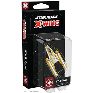 Star Wars: X-Wing Second Edition - BTL-B Y-Wing Expansion Pack_boxshot