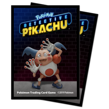 UP - Deck Protector Sleeves - Detective Pikachu - Mr. Mime (65 Sleeves)_boxshot