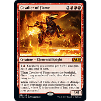Cavalier of Flame (Prerelease)