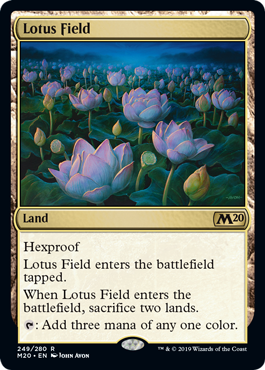 Lotus Field ( Foil ) (Core Set 2020 Prerelease)_boxshot