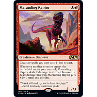 Marauding Raptor ( Foil ) (Core Set 2020 Prerelease)