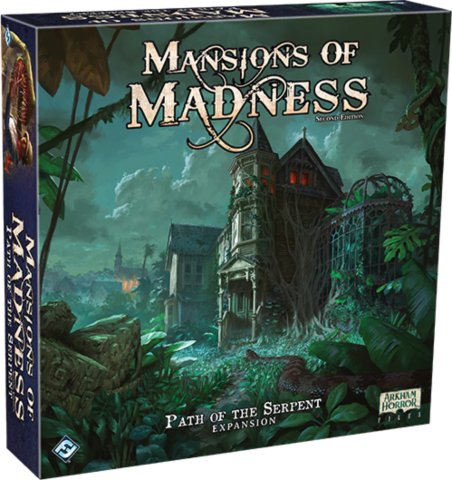Mansions of Madness: Path of the Serpent Expansion_boxshot