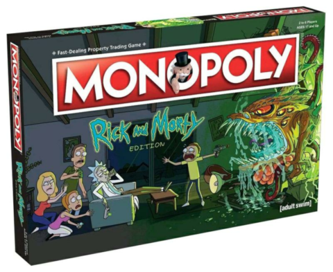 Monopoly Rick And Morty_boxshot