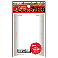 KMC Standard Sleeves - Character Guard Gold - 60 oversized Sleeves