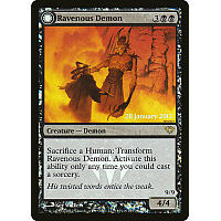 Ravenous Demon ( Foil ) (Dark Ascension Prerelease)