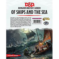 D&D: Dungeon Master's Screen - Of Ships & The Sea