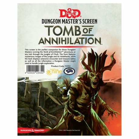 D&D: Tomb of Annihilation Dungeon Master's Screen_boxshot