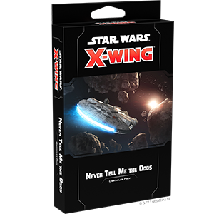 Star Wars: X-Wing Second Edition - Never Tell Me The Odds Obstacle Pack_boxshot