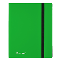 9-Pocket Eclipse Lime Green PRO-Binder