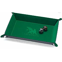 Dice Tray - Rectangle Series: Green
