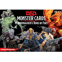 Dungeons & Dragons –  D&D 5th Monster Cards Mordekainens Tome of Foes