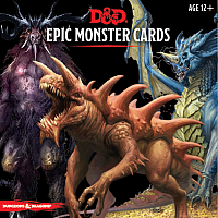 Dungeons & Dragons – D&D 5th Monster Cards Epic Monsters