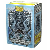 Dragon Shield Classic Art Sleeves - King Athromark III: Coat-of-Arms (100 Sleeves)