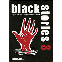 Black Stories (Dark Stories) 3- 50 nattsvarta mysterier (Svensk)