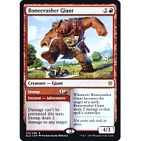 Bonecrusher Giant ( Foil ) (Throne of Eldraine Prerelease)