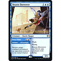 Brazen Borrower ( Foil ) (Throne of Eldraine Prerelease)