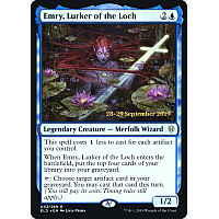 Emry, Lurker of the Loch ( Foil ) (Throne of Eldraine Prerelease)
